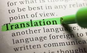 yazılı tercüme